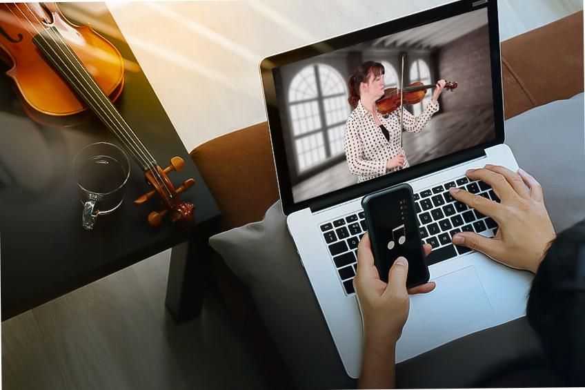 Alissa Violin lesson