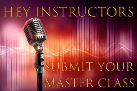 Submit your Master Class